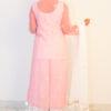 Light Pink Georgette Kurti